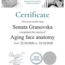 Sonata Granovska- face anatomy
